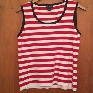 Ann Taylor striped tank top